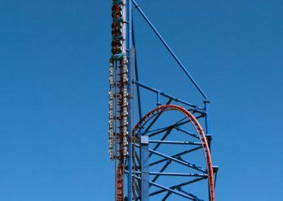 Spike Tower of Mr. Freeze Reverse Blast