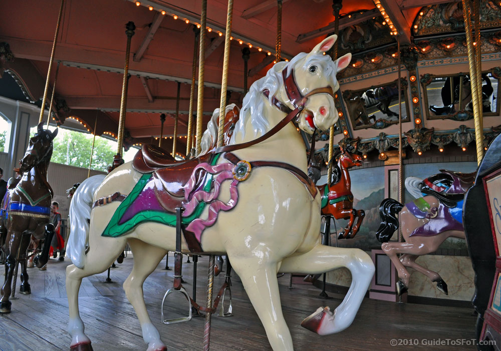 Silver Star Carousel horse