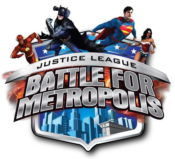 Justice League: Battle for Metropolis logo
