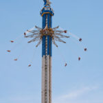 Twisting seats on Texas SkyScreamer