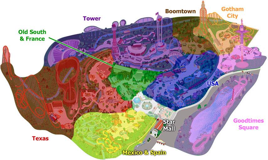 SFoT's Park Sections