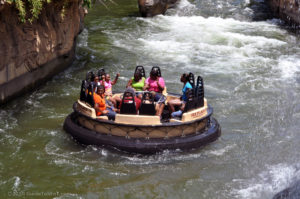 Roaring Rapids passengers