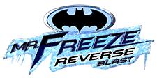 Mr. Freeze Reverse Blast Logo