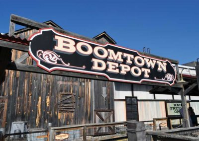 Boomtown Depot Sign