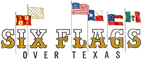 Original Six Flags over Texas logo