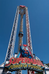 Superman Tower of Power entrance