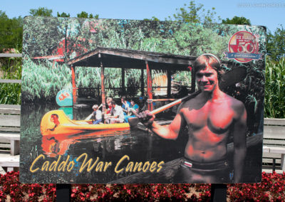 Caddo War Canoes