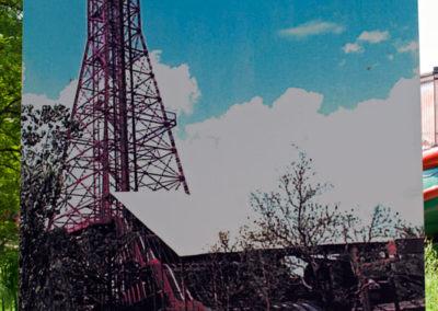 Oil Derrick Slide