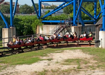 Riders on Mini Mine Train