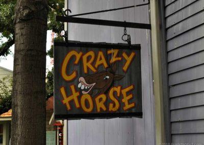 Crazy Horse Sign