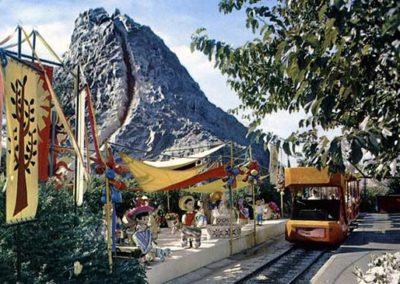 Volcano Scene
