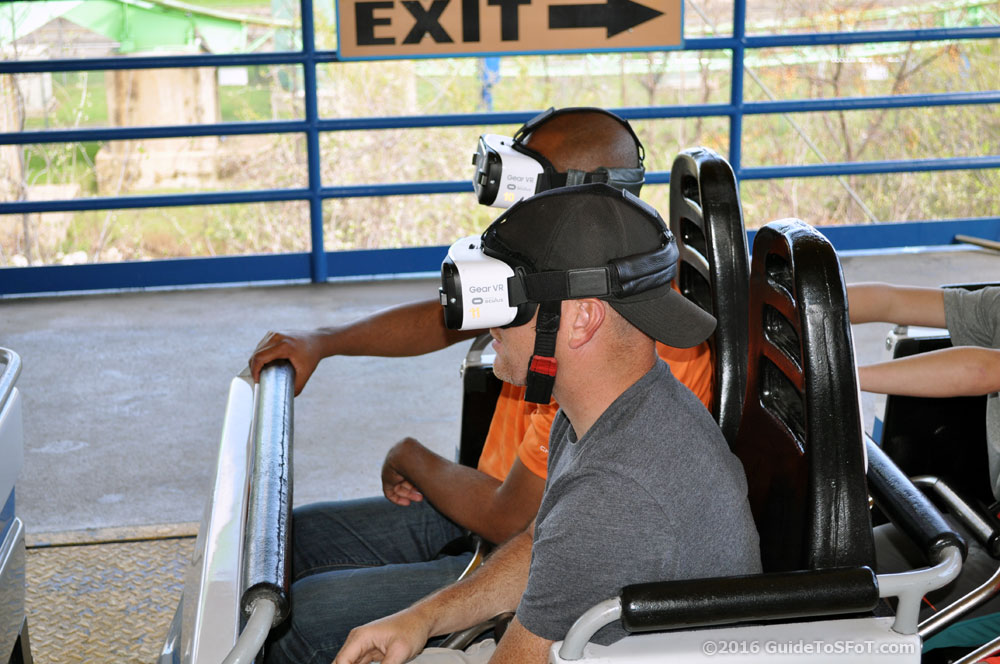 Riders with VR Headsets