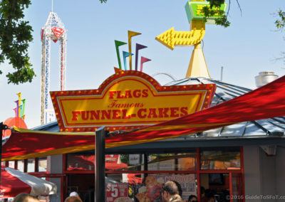 Flags Funnel Cakes