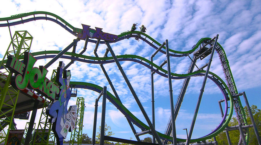 Coming in 2017: The Joker Roller Coaster