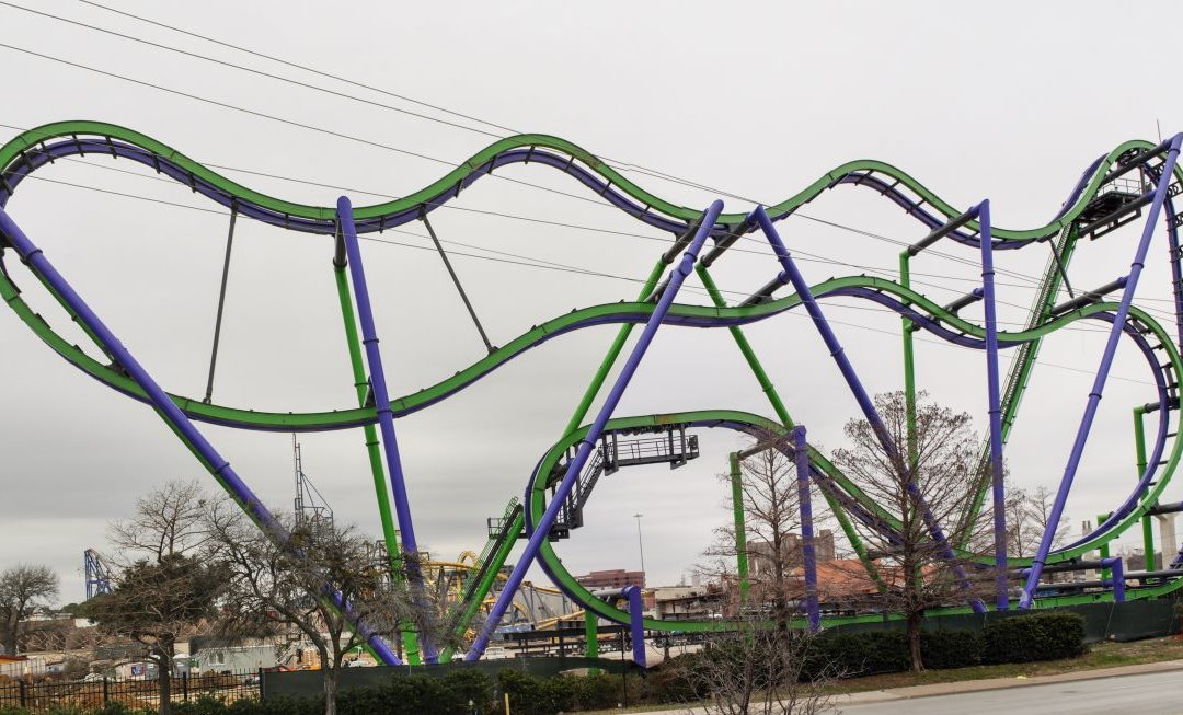 Joker Structure Completed, Trains On Site