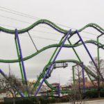 Completed Joker Ride Structure