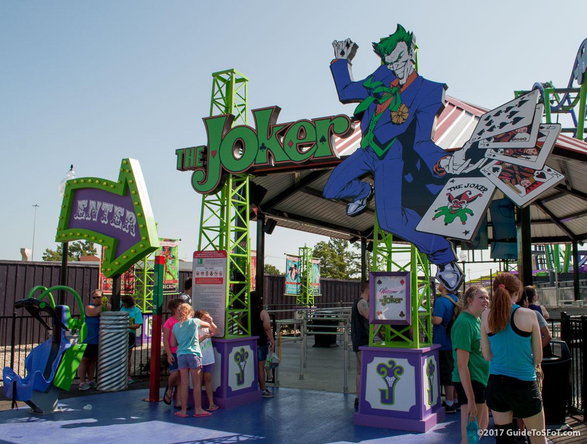 The Joker Entrance