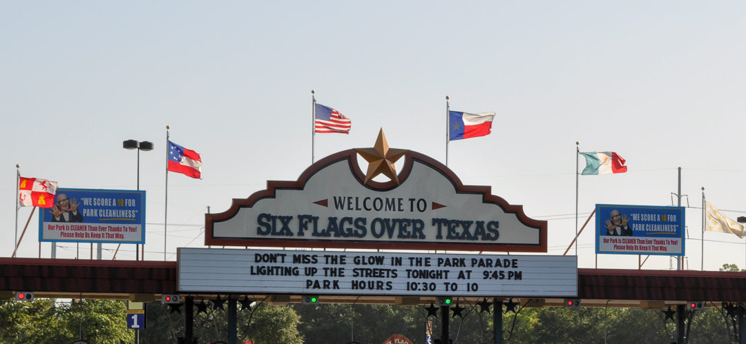 'Six Flags' over Texas No More