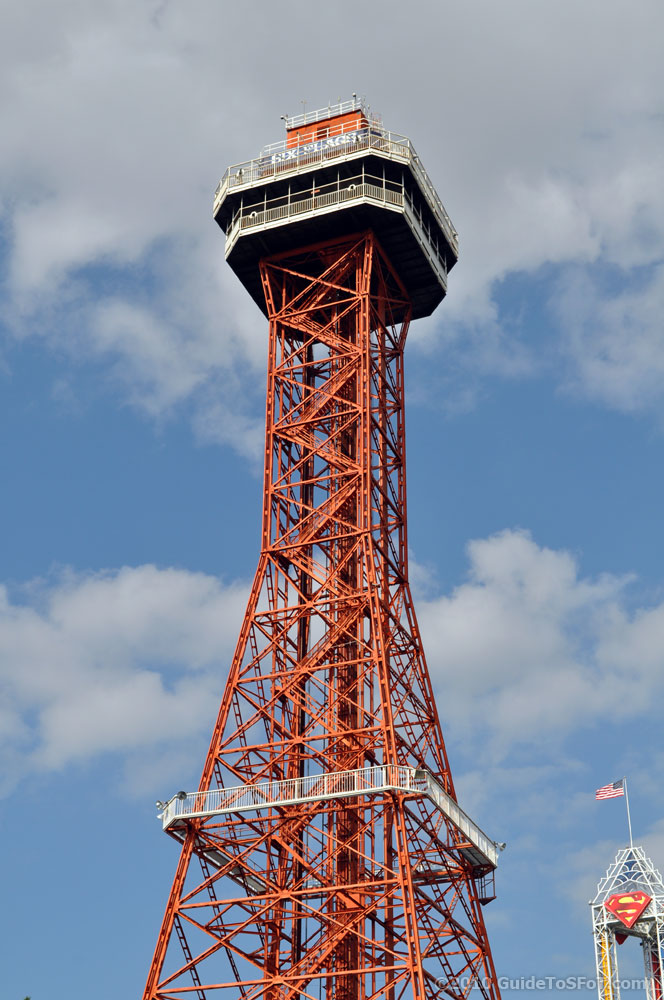 Oil Derrick Observation Tower Guide To Six Flags Over Texas