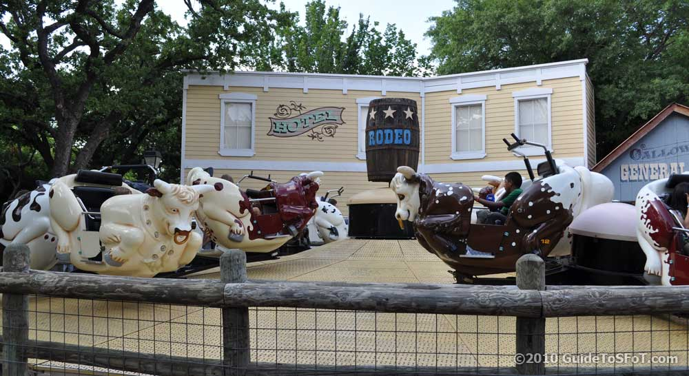 Rodeo Ride Guide To Six Flags Over Texas