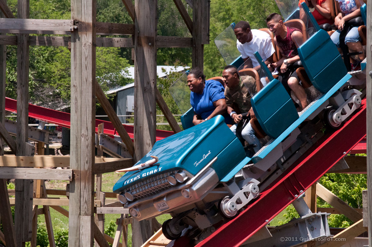 New Texas Giant Roller Coaster Guide To Six Flags Over Texas