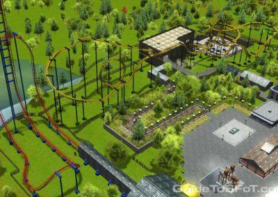 Gotham City Food Court Six Flags