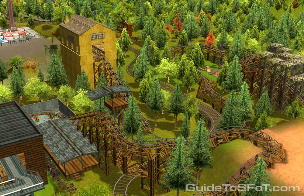 SFoT RCT3 Re-Creation | Guide to Six Flags over Texas