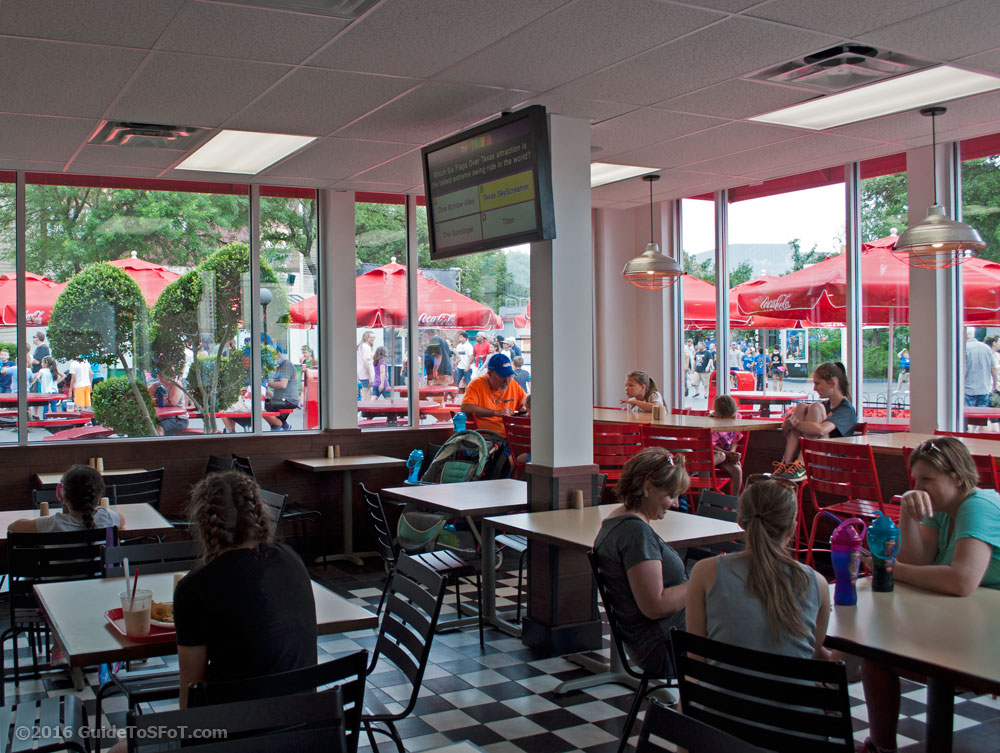 Johnny Rockets Guide To Six Flags Over Texas