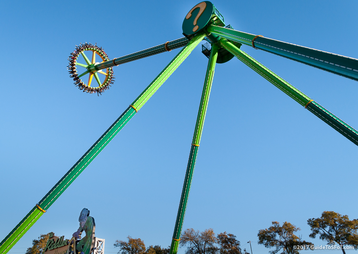 The Riddler Revenge Ride Guide To Six Flags Over Texas