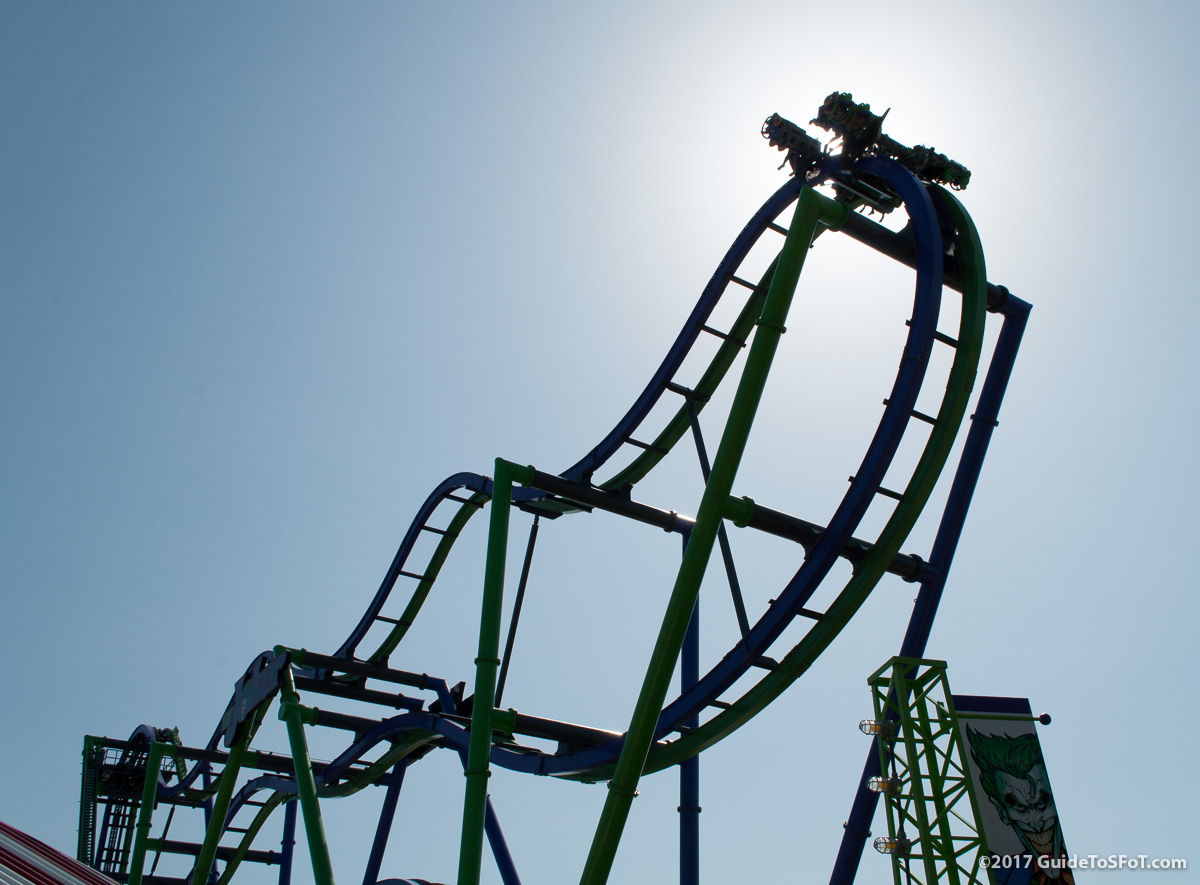 The Joker Roller Coaster Guide To Six Flags Over Texas
