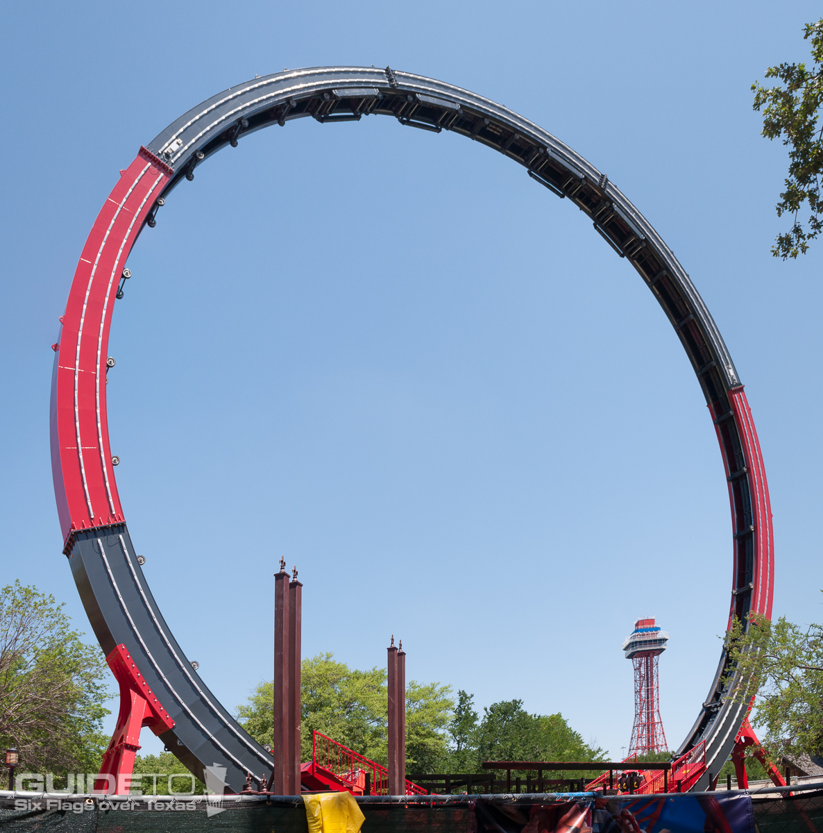 Six Flags Over Texas Rides Guide To Sfot